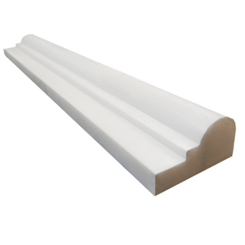 Dolomiti White Marble Italian Bianco Dolomite Ogee 1 Chairrail Molding Polished