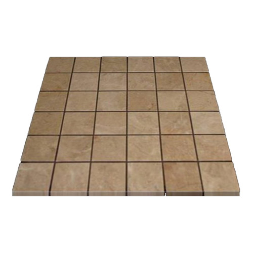 Crema Marfil Marble 2x2 Mosaic Tile Polished