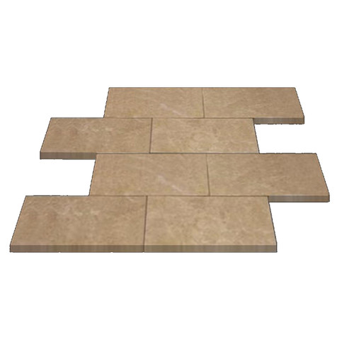Crema Marfil Marble 6x12 Marble Subway Tile Polished