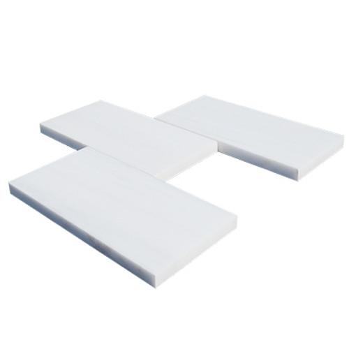 3x6  Bianco Dolomiti Marble Subway Tile Polished