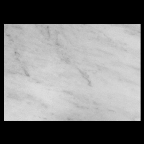 "Italian White Carrera Marble Bianco Carrara 3/4"" Marble Slab Polished"