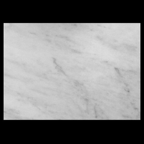 "Italian White Carrera Marble Bianco Carrara 1 1/4"" Marble Slab Polished"