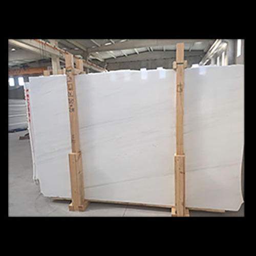"""Dolomiti White Marble Italian Bianco Dolomite 3/4"""" Marble Slab Honed"""