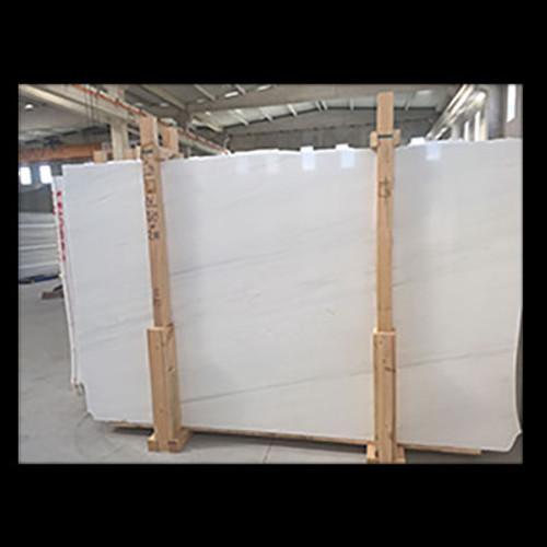 """Dolomiti White Marble Italian Bianco Dolomite 1 1/4"""" Marble Slab Honed"""