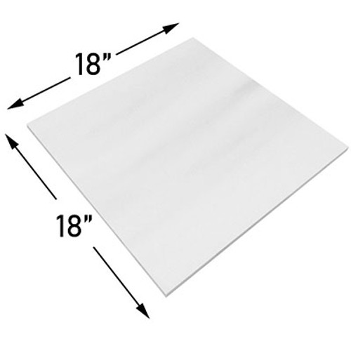 18x18 Bianco Dolomite Marble Tile Polished