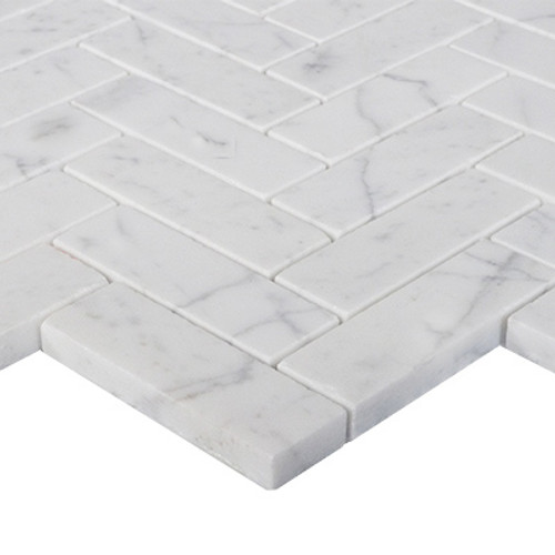 1x3 Herringbone Mosaic Tile Honed