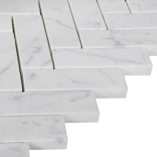 1x3 Herringbone Mosaic Tile Honed