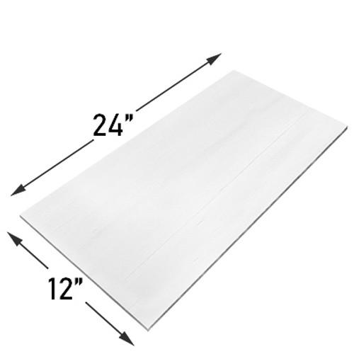 12x24 Bianco Dolomite Marble Tile Honed
