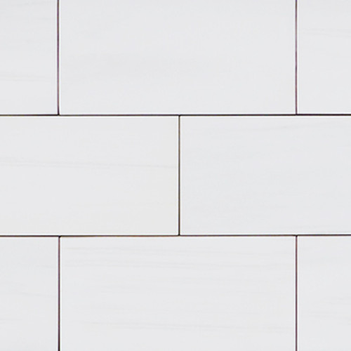 Bianco Dolomite  12x24 Marble Tile 12x24 Honed