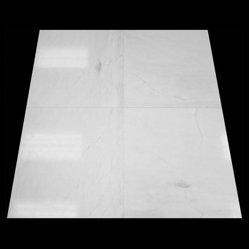 Bianco Dolomiti Marble Italian White Dolomite 24x24 Marble Tile Honed