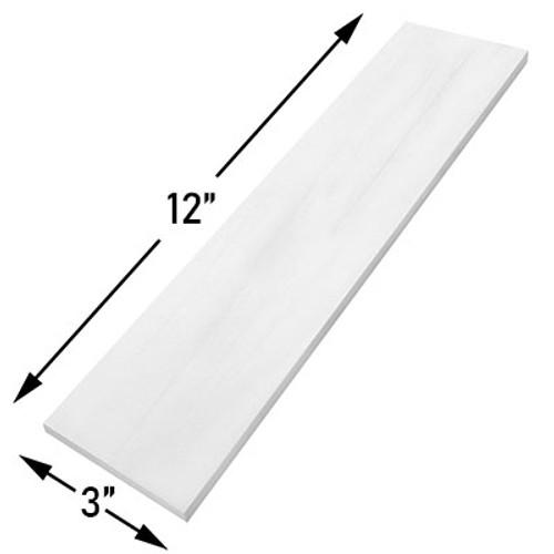 3x12 Bianco Dolomite Marble Subway Tile Polished
