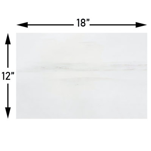12x18 Bianco Dolomiti  Marble Tile Polished