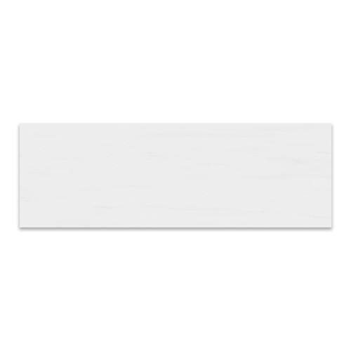 Bianco Dolomite Marble Italian White Dolomite 3x9 Marble Tile Honed