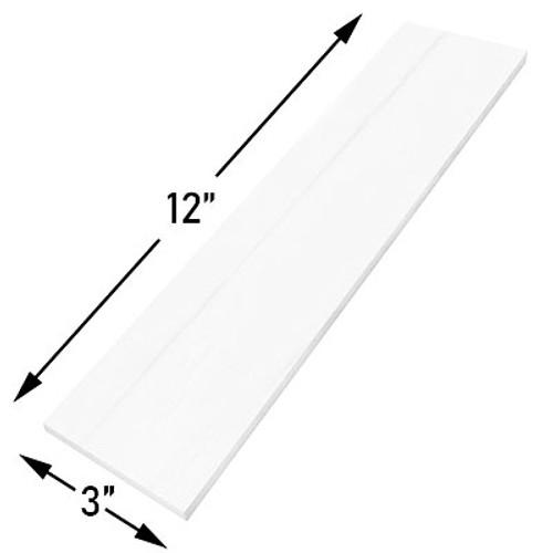 3x12 Bianco Dolomite Marble Subway Tile Honed