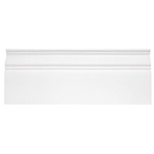 Bianco Dolomiti Marble  Baseboard Molding Honed