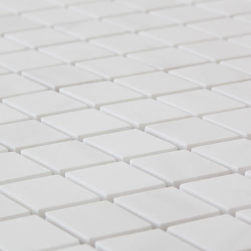 Bianco Dolomite Marble Diamond Mosaic Tile Polished