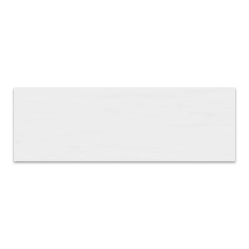 Polished Bianco Dolomiti Marble Italian White Dolomite 6x18 Marble Tile