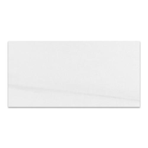 Honed Bianco Dolomiti Marble Italian White Dolomite 18x36 Marble Tile