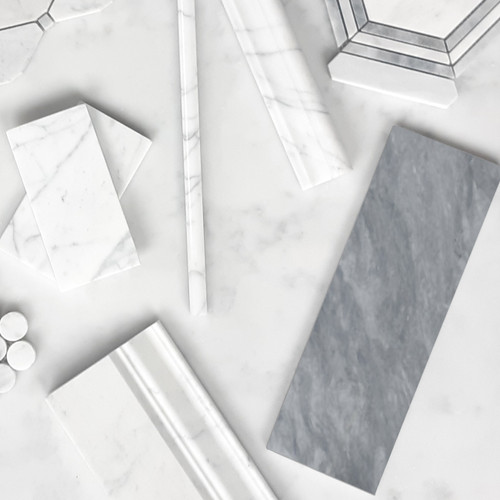 Bardiglio Gray - Carrara - Combination