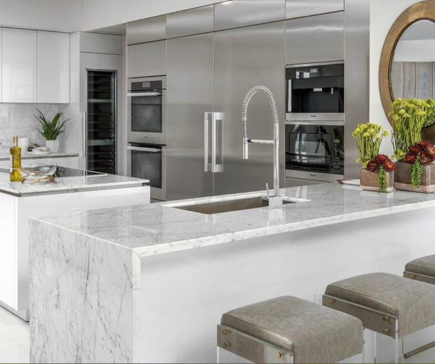 How much do Carrara marble countertops cost?