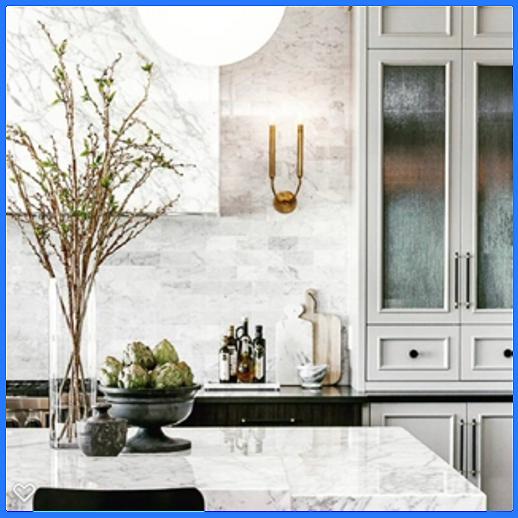 Is Carrara marble backsplash a good idea?