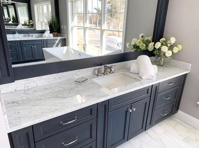 Is Carrara marble good for bathroom vanity?