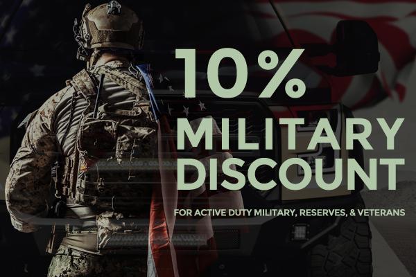 Bulken Off Road 10% Military Discount