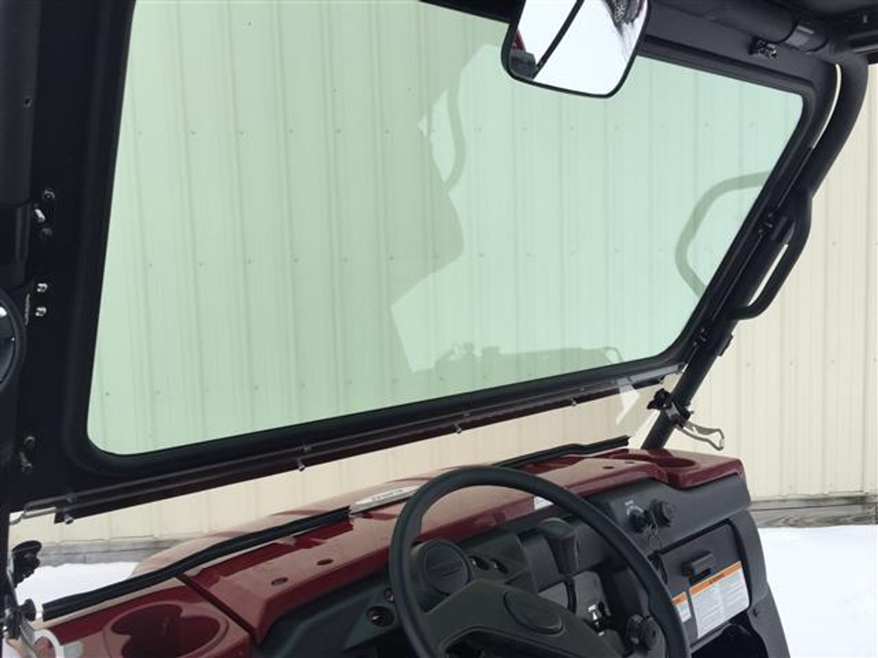 Moose Utility Clear Full Windshield For 03-08 Kawasaki KAF 950 Mule 3010 Diesel