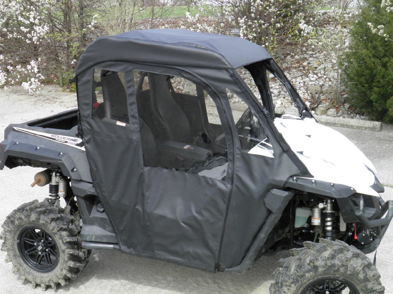 Yamaha Viking III Cab Enclosure For Spike Venting Windshield