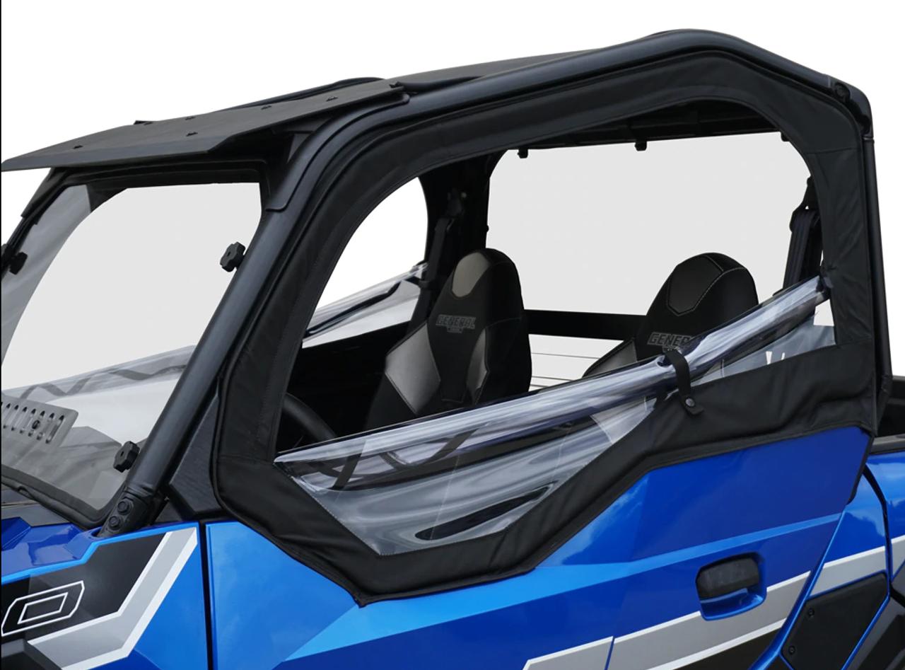 X1120 SuperATV Soft Cab Doors for Kubota RTV X900 Pair of Front Doors XG850