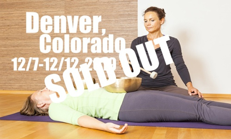 **SOLD OUT** VSA Singing Bowl Vibrational Sound Therapy Certification Course Denver, Co December 7-12, 2019