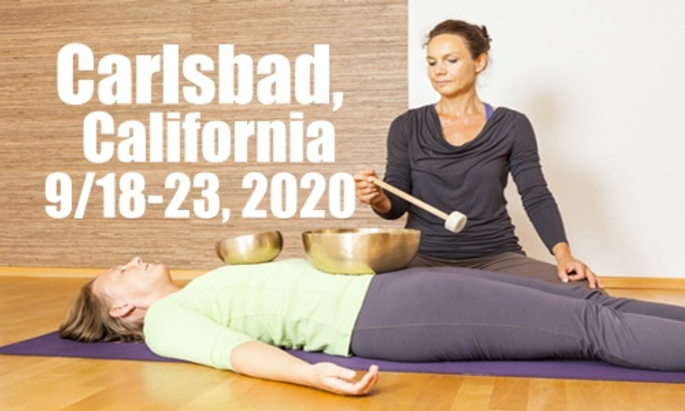 VSA Singing Bowl Vibrational Sound Therapy Certification Course Carlsbad, CA September 18-23, 2020