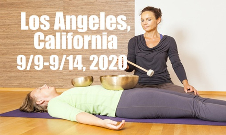 VSA Singing Bowl Vibrational Sound Therapy Certification Course Los Angeles, CA September 9-14, 2020