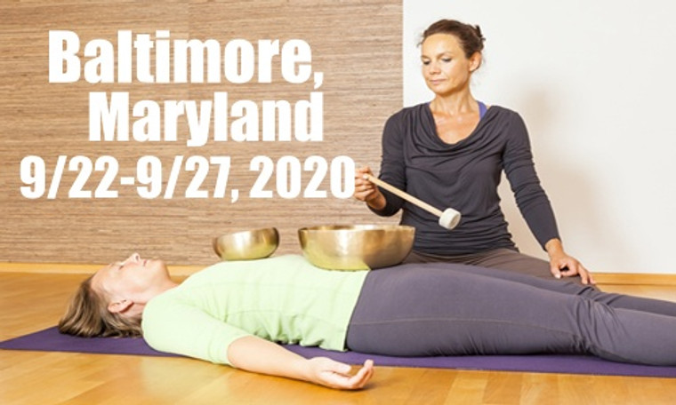 **RESCHEDULED** VSA Singing Bowl Vibrational Sound Therapy Certification Course Baltimore MD 9/22-9/27, 2020