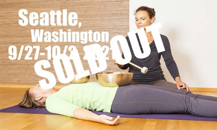 VSA Singing Bowl Vibrational Sound Therapy Certification Course Seattle WA September 27 - October 2, 2021