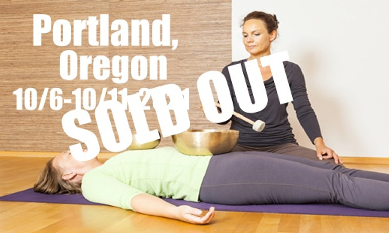 **SOLD OUT** VSA Singing Bowl Vibrational Sound Therapy Certification Course Portland, OR October 6-11, 2021
