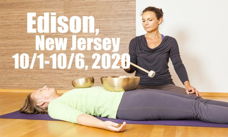 VSA Singing Bowl Vibrational Sound Therapy Certification Course Edison NJ October 1-6, 2020