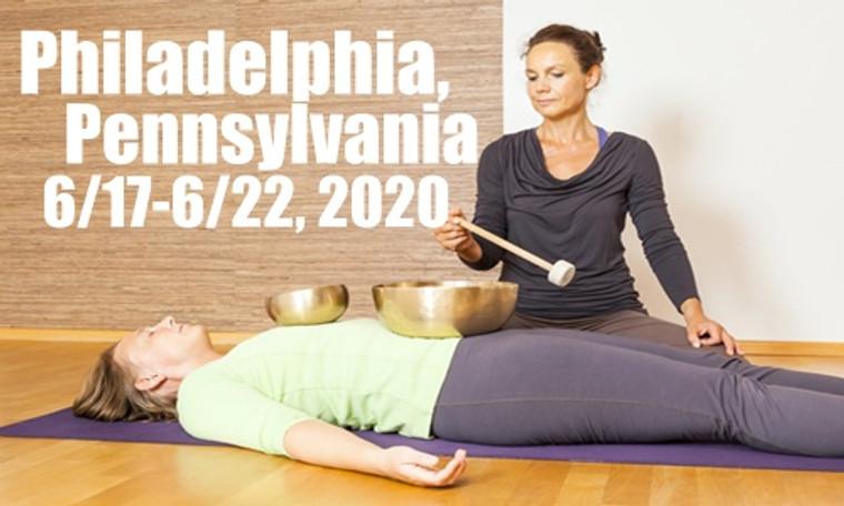 VSA Singing Bowl Vibrational Sound Therapy Certification Course Philadelphia, PA June 17-22, 2020