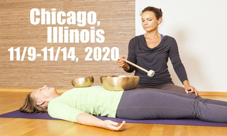 VSA Singing Bowl Vibrational Sound Therapy Certification Course Chicago, Il November 9-14, 2020
