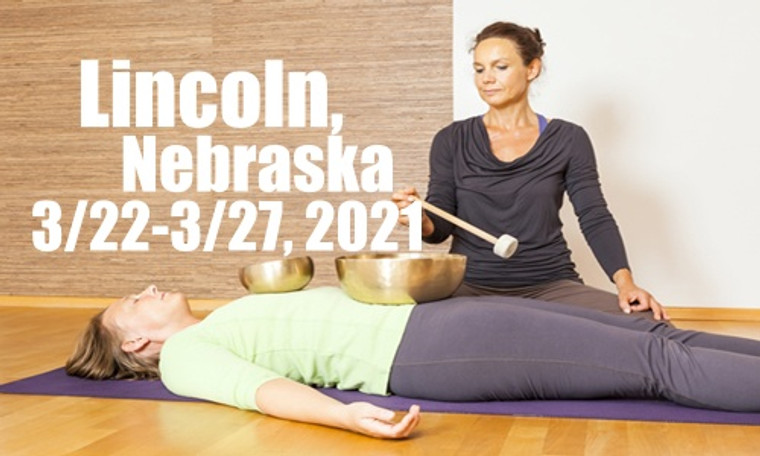 VSA Singing Bowl Vibrational Sound Therapy Certification Course Lincoln, NE March 22-27, 2021