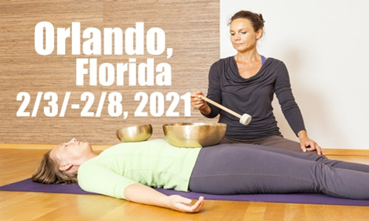 VSA Singing Bowl Vibrational Sound Therapy Certification Course Orlando, Fl February 3-8, 2021