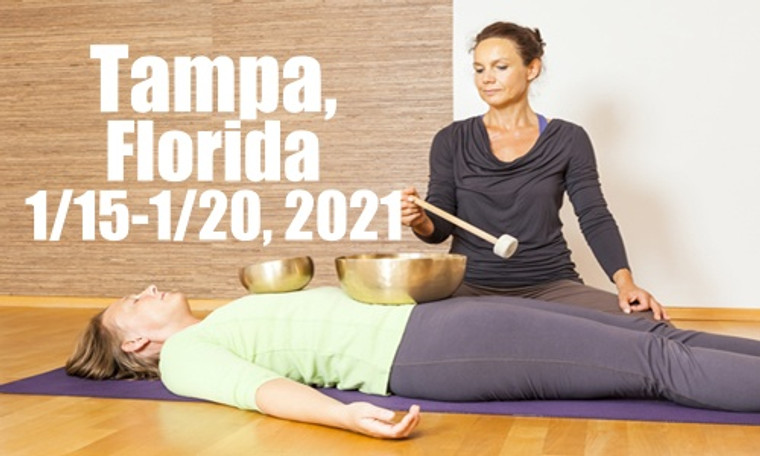 VSA Singing Bowl Vibrational Sound Therapy Certification Course Tampa FL January 15-20, 2021