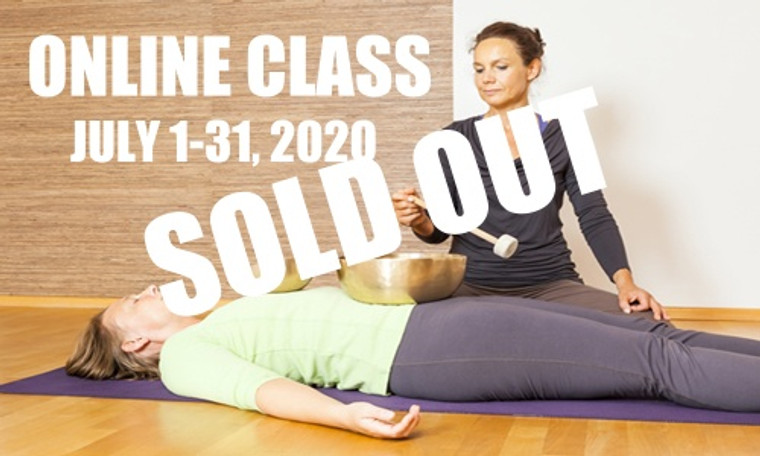 **SOLD OUT**  ONLINE VSA Singing Bowl Vibrational Sound Therapy Certification Course July 1-31 2020