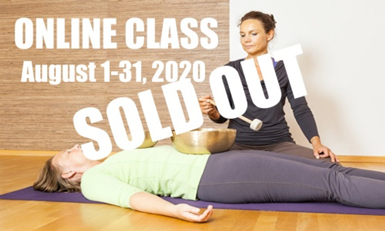 **SOLD OUT** ONLINE VSA Singing Bowl Vibrational Sound Therapy Certification Course August 1-31,  2020