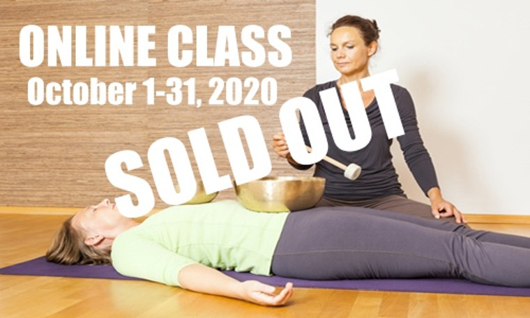 **SOLD OUT** ONLINE VSA Singing Bowl Vibrational Sound Therapy Certification Course October 1-31,  2020