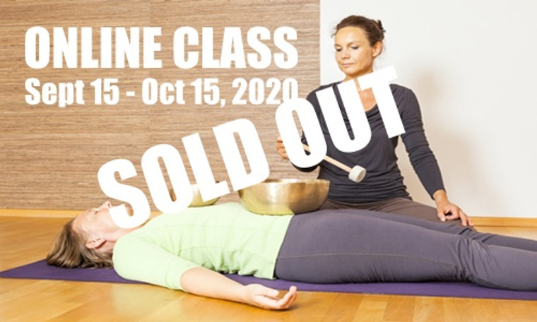 **SOLD OUT** ONLINE VSA Singing Bowl Vibrational Sound Therapy Certification Course September 15-October 15,  2020