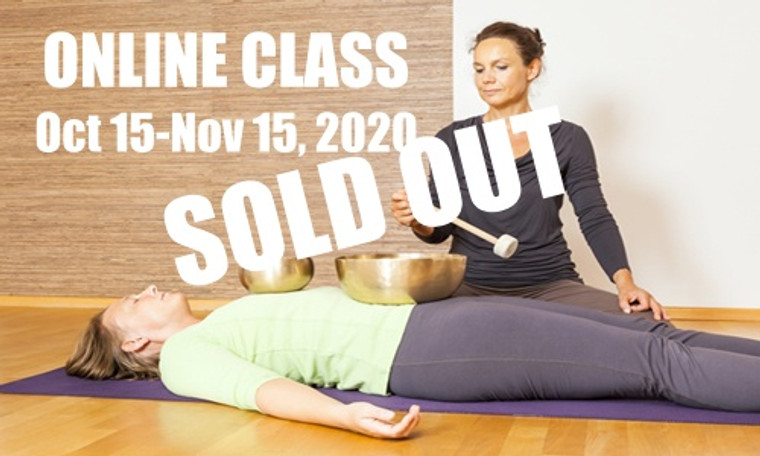 **SOLD OUT** ONLINE VSA Singing Bowl Vibrational Sound Therapy Certification Course October 15-November 15,  2020