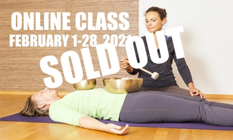 **SOLD OUT** ONLINE VSA Singing Bowl Vibrational Sound Therapy Certification Course February 1-28, 2021