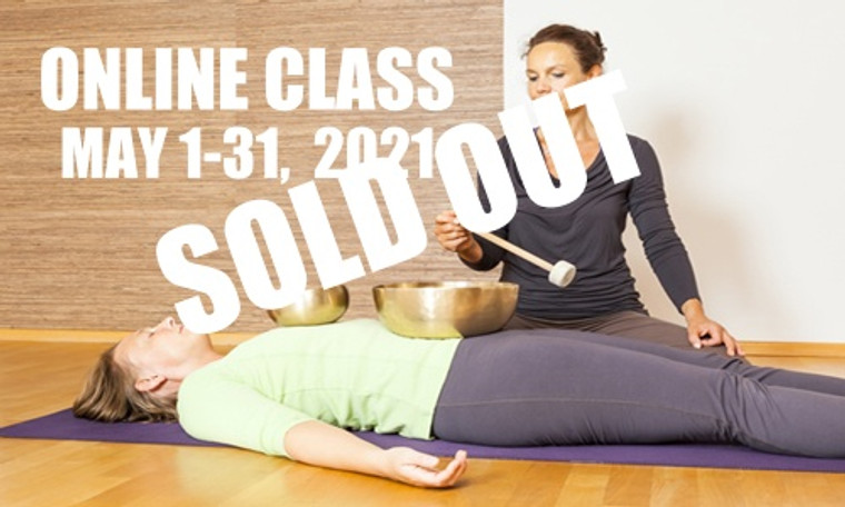 **SOLD OUT** ONLINE VSA Singing Bowl Vibrational Sound Therapy Certification Course May 1-31, 2021