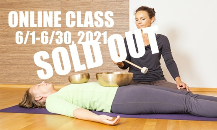 **SOLD OUT** ONLINE VSA Singing Bowl Vibrational Sound Therapy Certification Course June 1-30, 2021